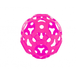 FOOOTY PACK pink ROSA portatile PALLA modulare DA 2D A 3D ball 10 PEZZI FOOOTY - 2