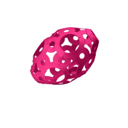 FOOOTY PACK pink ROSA portatile PALLA modulare DA 2D A 3D ball 10 PEZZI FOOOTY - 4