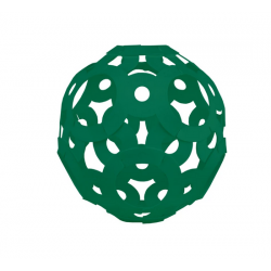 FOOOTY PACK green VERDE portatile PALLA modulare DA 2D A 3D ball 10 PEZZI FOOOTY - 2