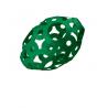 FOOOTY PACK green VERDE portatile PALLA modulare DA 2D A 3D ball 10 PEZZI FOOOTY - 4