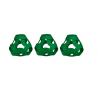 FOOOTY PACK green VERDE portatile PALLA modulare DA 2D A 3D ball 10 PEZZI FOOOTY - 5