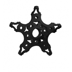 FOOOTY PACK black NERO portatile PALLA modulare DA 2D A 3D ball 10 PEZZI FOOOTY - 8