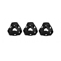 FOOOTY PACK black NERO portatile PALLA modulare DA 2D A 3D ball 10 PEZZI FOOOTY - 13