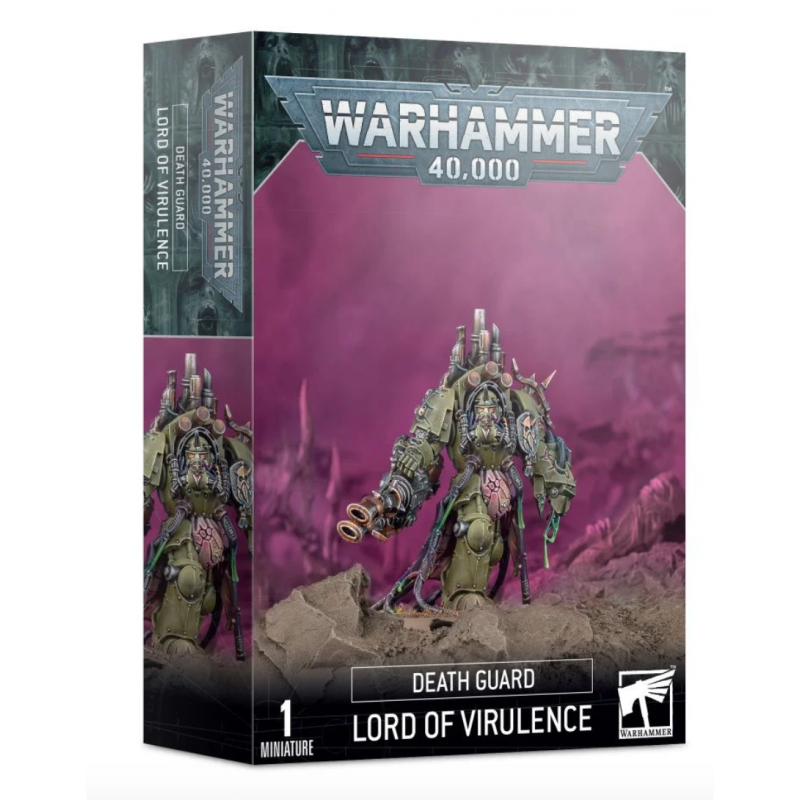 LORD OF VIRULENCE 1 miniatura DEATH GUARD warhammer 40k GAMES WORKSHOP età 12+ Games Workshop - 1