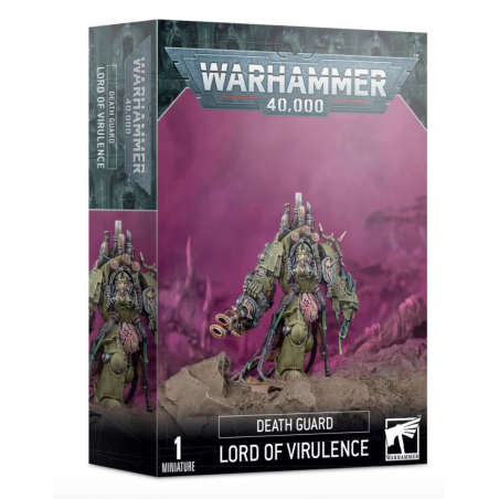 LORD OF VIRULENCE 1 miniatura DEATH GUARD warhammer 40k GAMES WORKSHOP età 12+ Games Workshop - 1