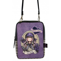 TRACOLLA shoulder bag SEA NIXIE gorjuss VIOLA santoro 1072GJ02 compatta Gorjuss - 1
