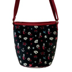 TRACOLLA IN NEOPRENE shoulder bag MARY ROSE gorjuss ROSSO santoro 885GJ09 compatta Gorjuss - 1