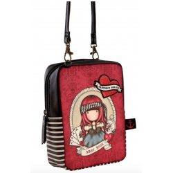 TRACOLLA shoulder bag MARY ROSE gorjuss ROSSO santoro 1072GJ03 compatta Gorjuss - 1