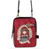 TRACOLLA shoulder bag MARY ROSE gorjuss ROSSO santoro 1072GJ03 compatta Gorjuss - 2