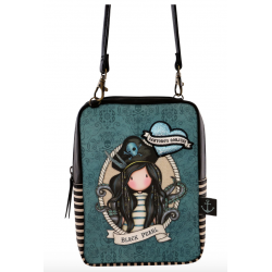 TRACOLLA shoulder bag BLACK PEARL gorjuss BLU santoro 1072GJ01 compatta Gorjuss - 2