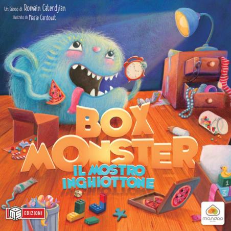 BOX MONSTER il mostro inghiottone MS EDIZIONI gioco da tavolo IN ITALIANO età 6+ MS Edizioni - 1
