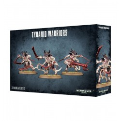 GUERRIERI TYRANID WARRIORS 3 miniature Warhammer 40000 Games Workshop - 2