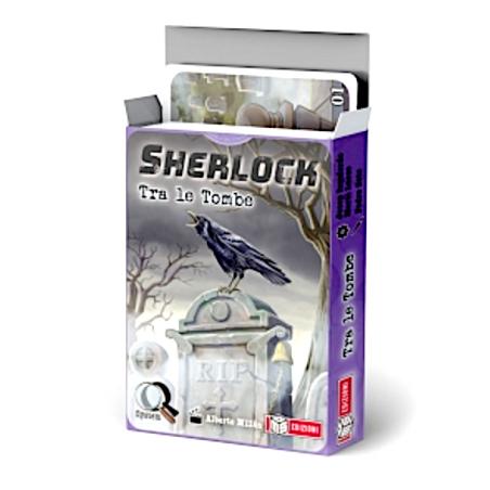 SHERLOCK gioco investigativo TRA LE TOMBE ms edizioni IN ITALIANO età 10+ MS Edizioni - 1