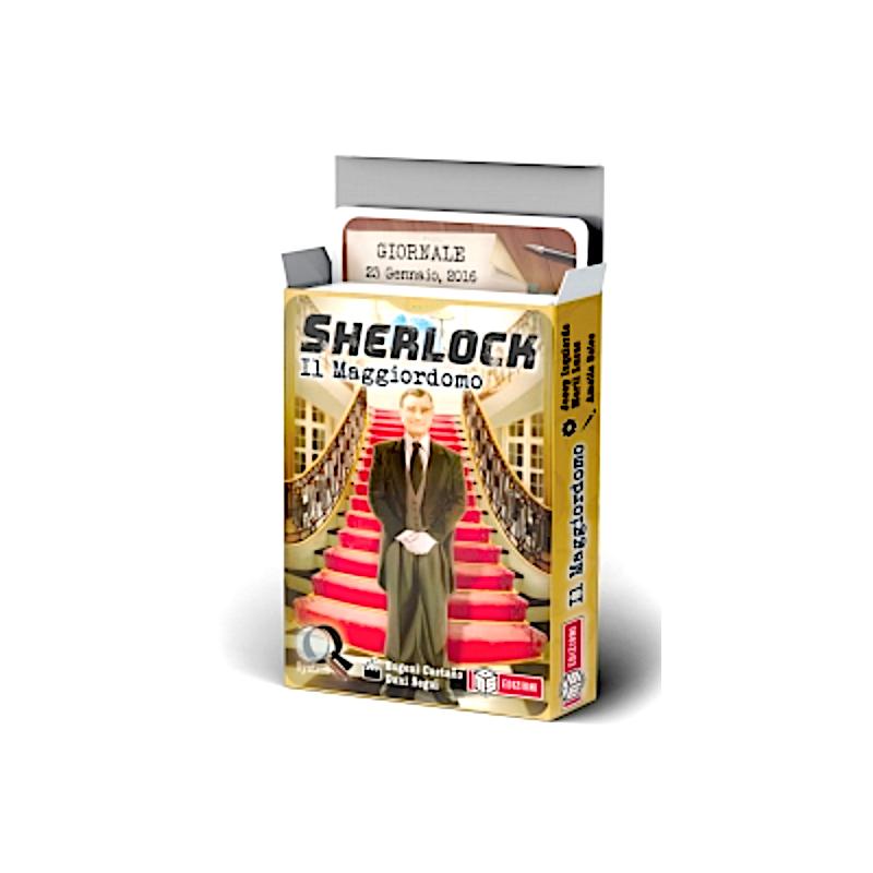 SHERLOCK gioco investigativo IL MAGGIORDOMO ms edizioni IN ITALIANO età 10+ MS Edizioni - 1