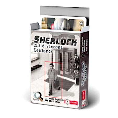 SHERLOCK gioco investigativo CHI E' VINCENT LEBLANC? ms edizioni IN ITALIANO età 10+ MS Edizioni - 1