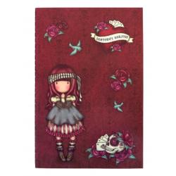SET DI 2 NOTEBOOK stitched MARY ROSE gorjuss ROSSO santoro 1063GJ01 Gorjuss - 2