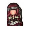 SET DI 2 NOTEBOOK stitched MARY ROSE gorjuss ROSSO santoro 1063GJ01 Gorjuss - 4