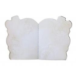 SET DI 2 NOTEBOOK stitched BLACK PEARL gorjuss BLU santoro 1063GJ02 Gorjuss - 5