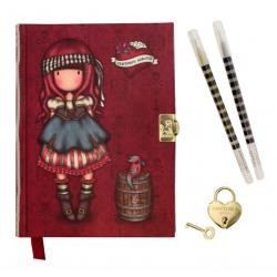 DIARIO SEGRETO lockable journal SET con accessori MARY ROSE gorjuss ROSSO santoro 522GJ09 Gorjuss - 1