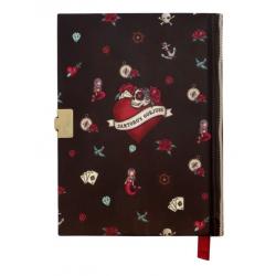DIARIO SEGRETO lockable journal SET con accessori MARY ROSE gorjuss ROSSO santoro 522GJ09 Gorjuss - 4