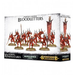 BLOODLETTERS Daemons of Khorne 10 miniatures Warhammer Age of Sigmar Games Workshop - 1