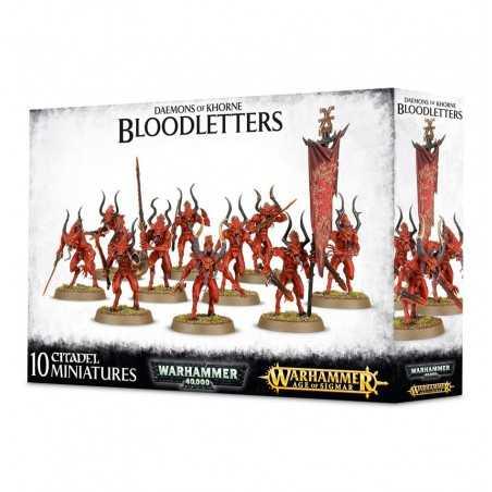 BLOODLETTERS Daemons of Khorne 10 miniatures Warhammer Age of Sigmar Games Workshop - 1