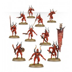 BLOODLETTERS Daemons of Khorne 10 miniatures Warhammer Age of Sigmar Games Workshop - 2