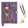 DIARIO SEGRETO lockable journal SET con accessori BLACK PEARL gorjuss BLU santoro 522GJ08 Gorjuss - 2