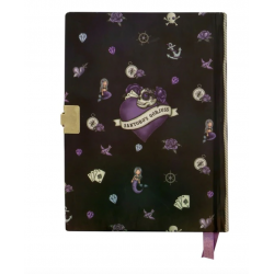 DIARIO SEGRETO lockable journal SET con accessori BLACK PEARL gorjuss BLU santoro 522GJ08 Gorjuss - 4
