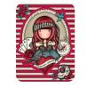 SET DI ADESIVI vinyl sticker pack MARY ROSE gorjuss ROSSO santoro 1062GJ02 Gorjuss - 4