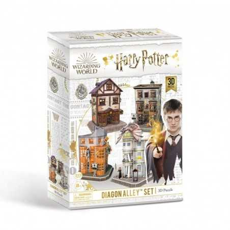 DIAGON ALLEY set PUZZLE 3D revell 273 PEZZI wizarding world HARRY POTTER età 8+ WIZARDING WORLD - 1