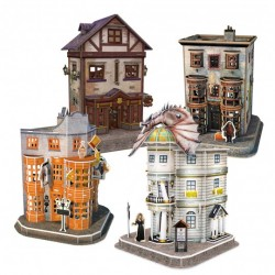 DIAGON ALLEY set PUZZLE 3D revell 273 PEZZI wizarding world HARRY POTTER età 8+ WIZARDING WORLD - 3