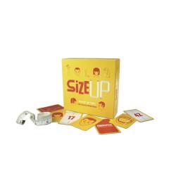 SIZE UP party game HELVETIQ in italiano MISURE gioco di società DIMENSIONI età 7+ HELVETIQ - 1