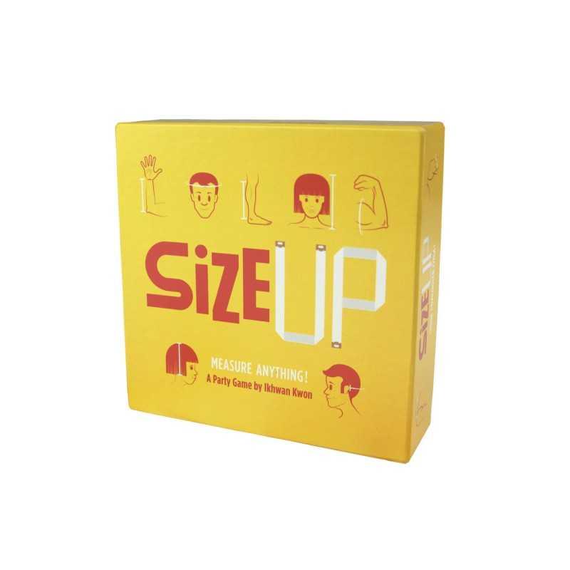 SIZE UP party game HELVETIQ in italiano MISURE gioco di società DIMENSIONI età 7+ HELVETIQ - 2