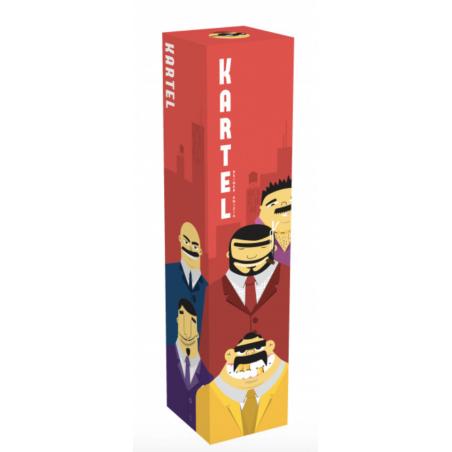 KARTEL party game HELVETIQ in italiano DETECTIVE gioco da tavolo BANDE CRIMINALI età 6+ HELVETIQ - 1