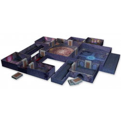 TENFOLD DUNGEON modular tabletop terrain set THE CASTLE scenario TABELLONE per giochi 12 STANZE - 1