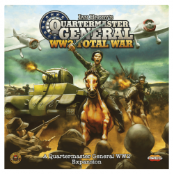 QUARTERMASTER GENERAL espansione WW2 TOTAL WAR gioco da tavolo IN ITALIANO età 14+ Ghenos Games - 3