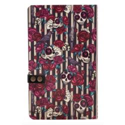 NOTEBOOK large journal with strap MARY ROSE con clip di chiusura GORJUSS santoro ROSSO taccuino 400GJ09 Gorjuss - 4