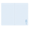 NOTEBOOK large journal with strap BLACK PEARL con clip di chiusura GORJUSS santoro BLU taccuino 400GJ07 Gorjuss - 3