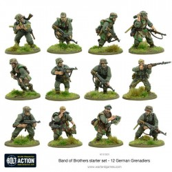 BAND OF BROTHERS in italiano Scatola Base BOLT ACTION wargame storico starter set - 3