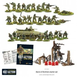 BAND OF BROTHERS in italiano Scatola Base BOLT ACTION wargame storico starter set - 5
