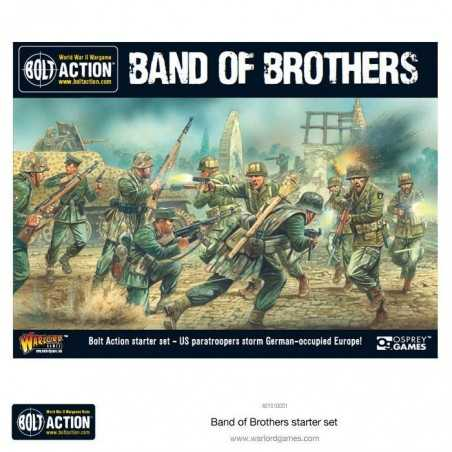 BAND OF BROTHERS in italiano Scatola Base BOLT ACTION wargame storico starter set  - 6