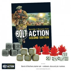 BAND OF BROTHERS in italiano Scatola Base BOLT ACTION wargame storico starter set - 7