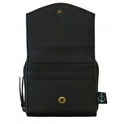 PORTAMONETE wallet BLACK PEARL gorjuss 1073GJ01 santoro BLU bottone Gorjuss - 3