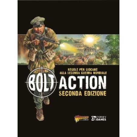 BOLT ACTION regolamento 2a edizione in italiano MANUALE Warlord Games Warlord Games - 1