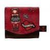 PORTAFOGLI PICCOLO small wallet MARY ROSE gorjuss 1074GJ02 santoro ROSSO bottone Gorjuss - 1