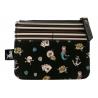 PORTAMONETE zip purse BLACK PEARL gorjuss 1073GJ01 santoro BLU con cerniera Gorjuss - 2