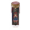 SEGNALIBRO IN METALLO metal bookmark in glass jar MARY ROSE gorjuss ROSSO santoro 1061GJ02 Gorjuss - 1