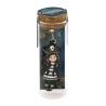 SEGNALIBRO IN METALLO metal bookmark in glass jar BLACK PEARL gorjuss BLU santoro 1061GJ01 Gorjuss - 1