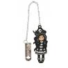SEGNALIBRO IN METALLO metal bookmark in glass jar BLACK PEARL gorjuss BLU santoro 1061GJ01 Gorjuss - 2